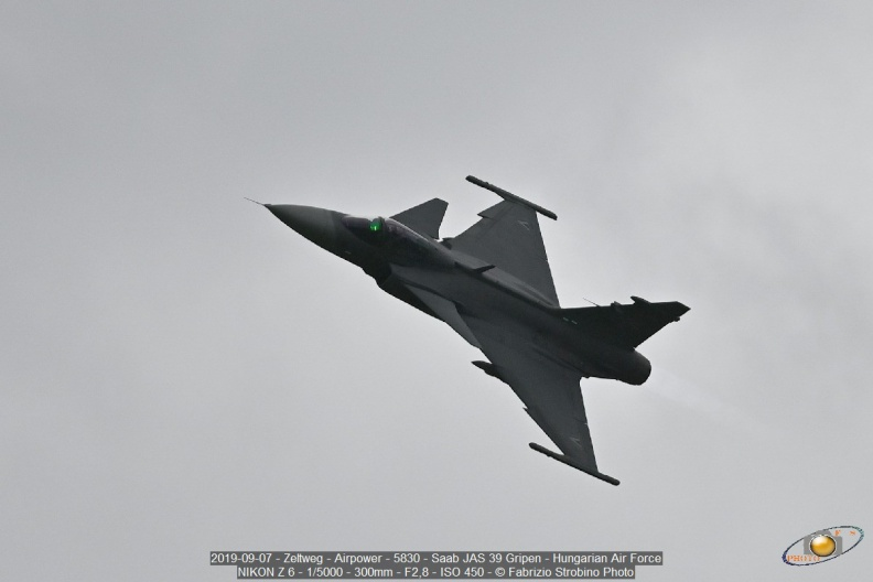 2019-09-07 - Zeltweg - Airpower - 5830 - Saab JAS 39 Gripen - Hungarian Air Force.jpg